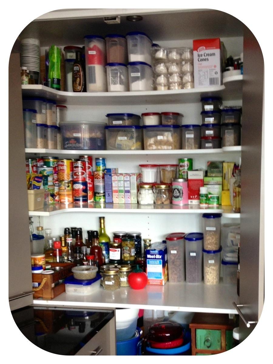 Spring pantry declutter Be Organised