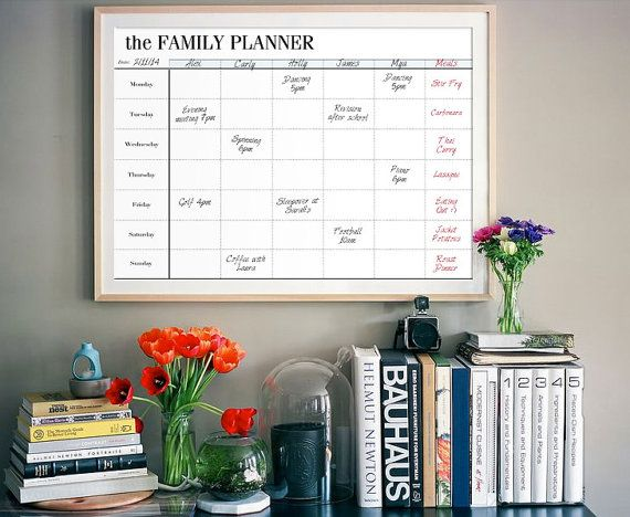 Family Planner Calendar Nz : Back to school — my top tips be organised