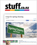 Stuff article Spring cleaning