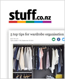 Stuff article about wardrobe tips